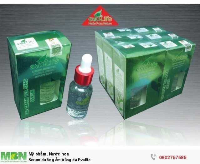 Serum dưỡng ẩm trắng da Evalife2