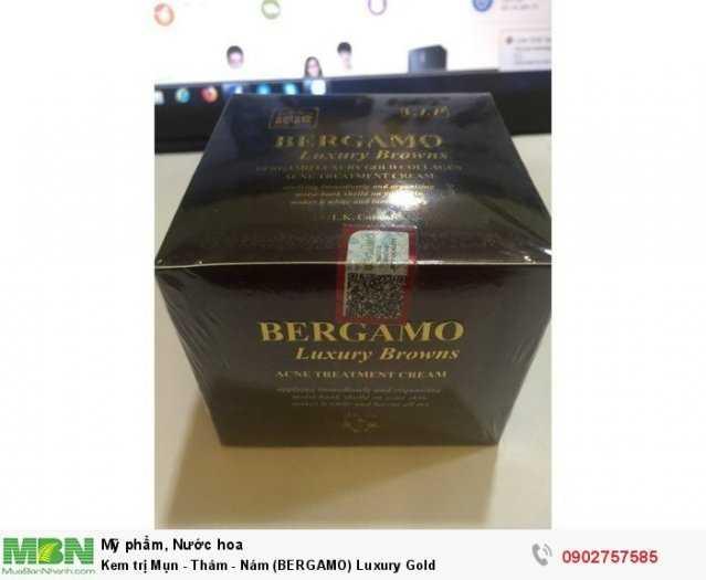 Kem trị Mụn - Thâm - Nám (BERGAMO) Luxury Gold0