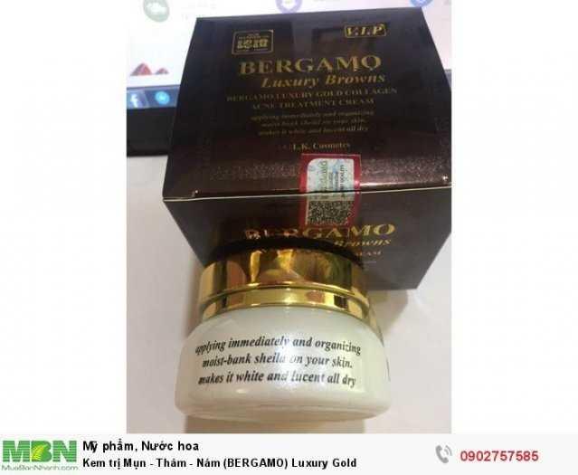 Kem trị Mụn - Thâm - Nám (BERGAMO) Luxury Gold2