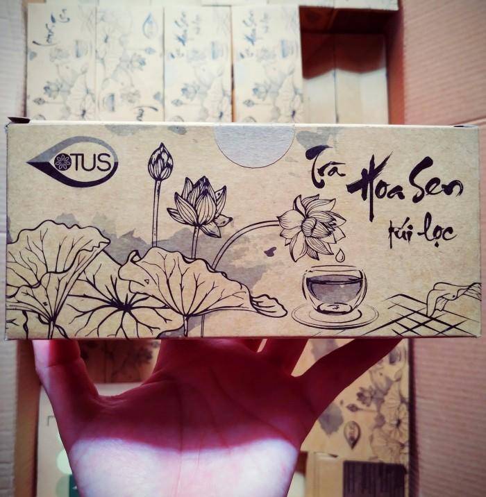Trà hoa sen Huế - 100% nguyên chất từ hoa sen - Tốt cho sức khỏe0