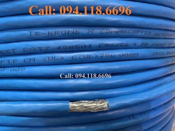 Cáp mạng Cat7 SSTP bọc bạc lưới thép chống nhiễu8