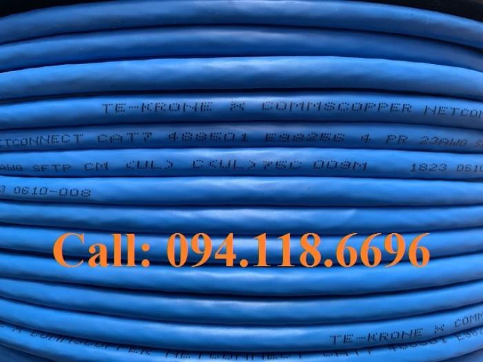 Cáp mạng Cat7 SSTP bọc bạc lưới thép chống nhiễu7