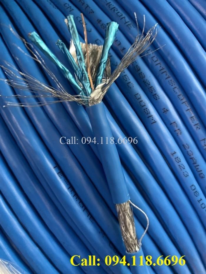 Cáp mạng Cat7 SSTP bọc bạc lưới thép chống nhiễu5