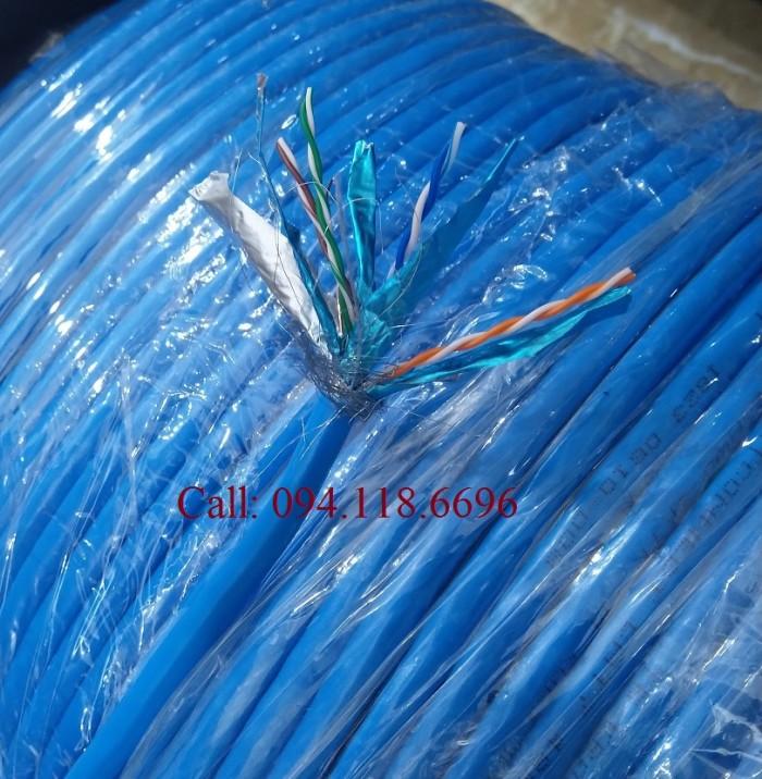 Cáp mạng Cat7 SSTP bọc bạc lưới thép chống nhiễu1