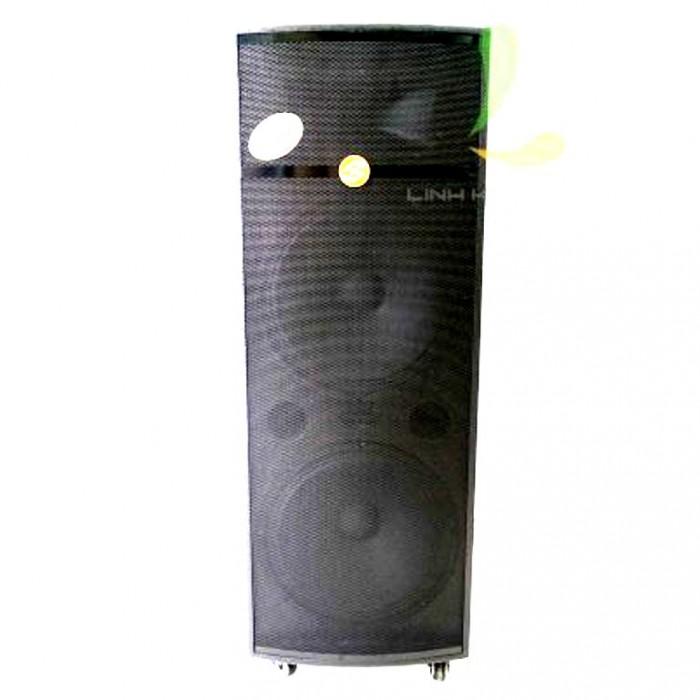 Loa kéo Hoxen L60H 4 tấc x 2 Bass  làm bằng thùng gỗ cao cấp và phủ lớp sơn tĩnh điện đen truyền thống4