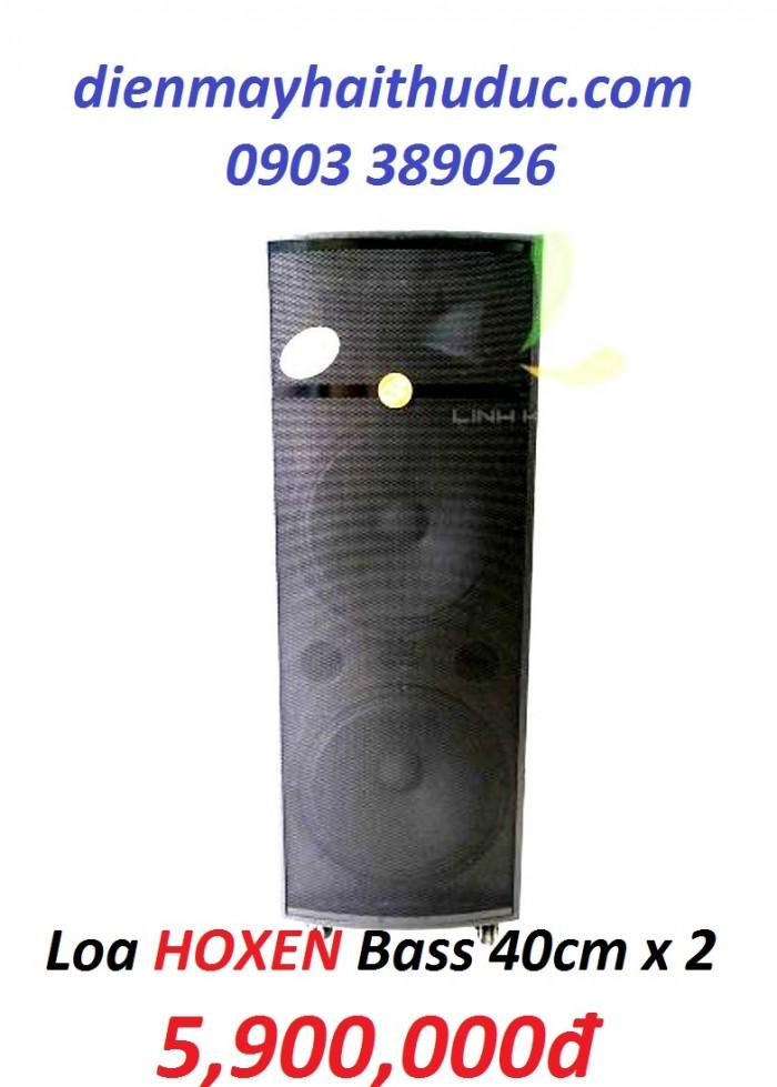 Loa kéo Hoxen L60H (4 tấc 2 Bass thùng gỗ) được thiết kế với kiểu dáng sang trọng2
