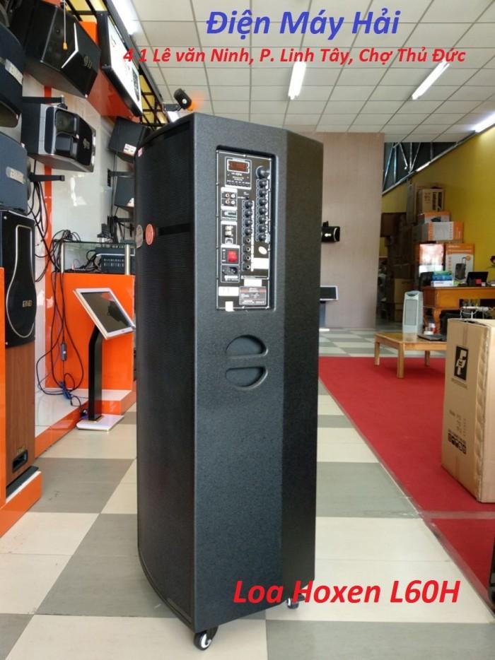 Loa kéo Hoxen L60H (4 tấc x 2 Bass thùng gỗ) công suất đến 800W1