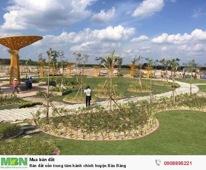Bán đất nền trung tâm hành chính huyện Bàu Bàng