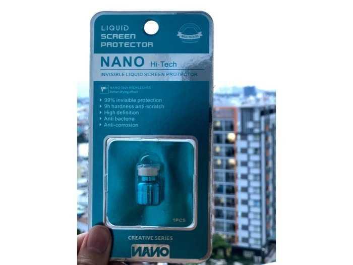 Nước cường lực công nghệ Nano4