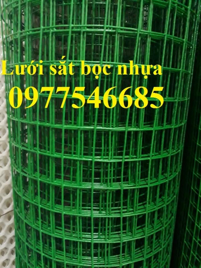 lưới sắt bọc nhựa ô 50x50