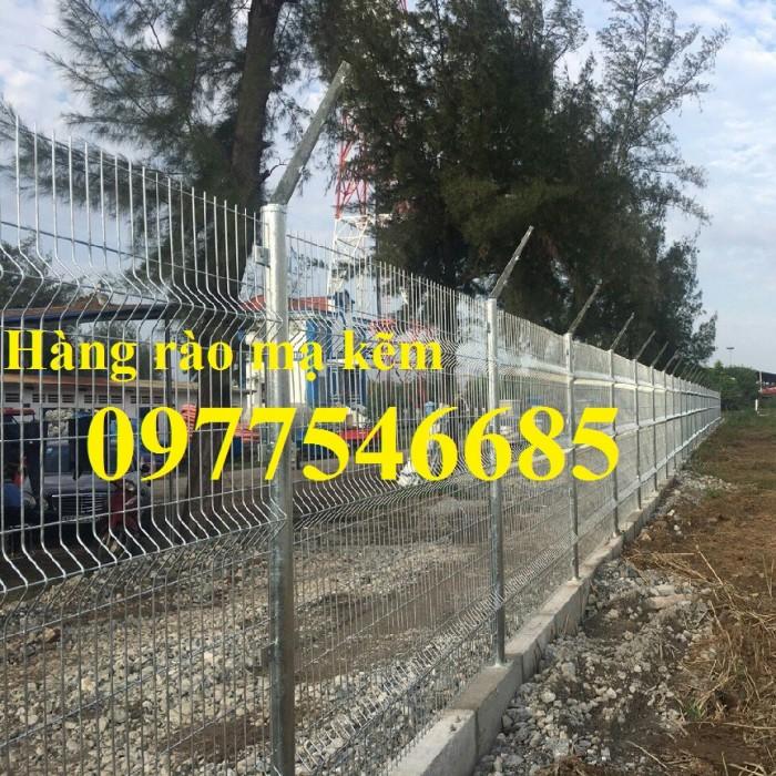 Hàng rào lưới thép mạ kẽm1