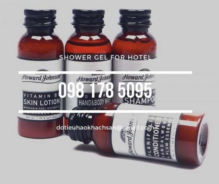 Bán dầu gội, sữa tắm chuyên dụng cho khu spa và massage chất lượng tốt, giá thành ổn định.14