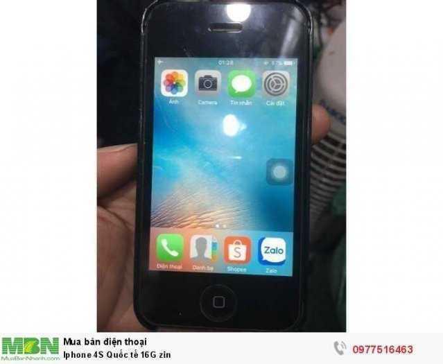 Iphone 4S Quốc tế 16G0