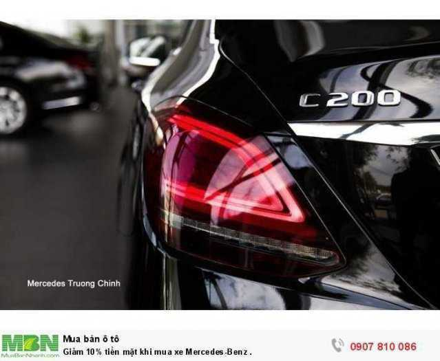Giảm ngay tiền mặt khi mua xe Mercedes-Benz . 3