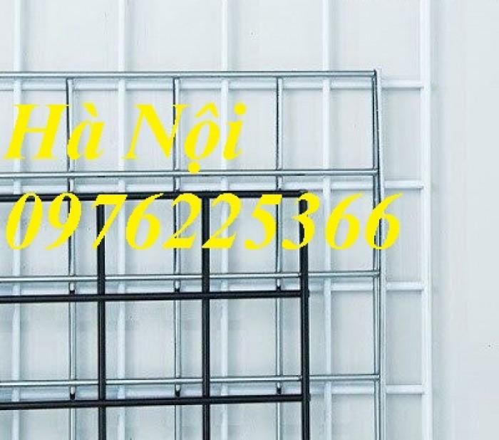 Lưới hàn sơn tĩnh điện màu trắng, có sẵn hàng