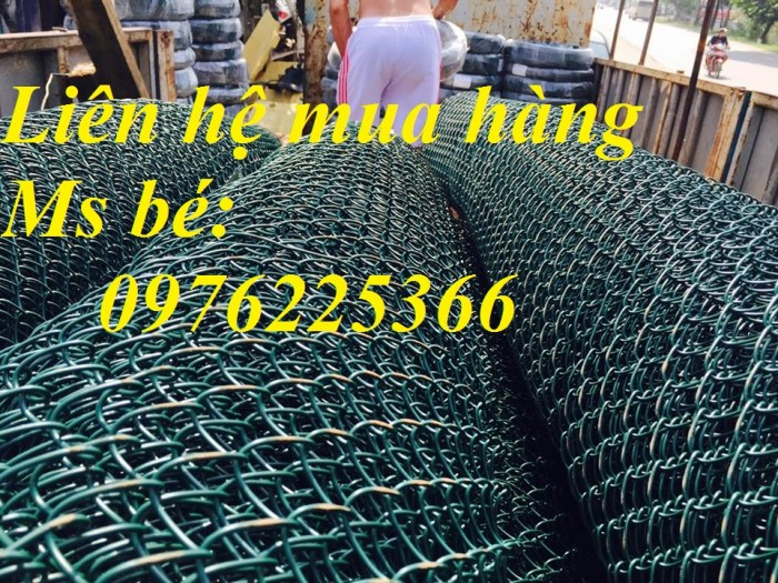 Lưới b40 bọc nhựa làm sân tennis3