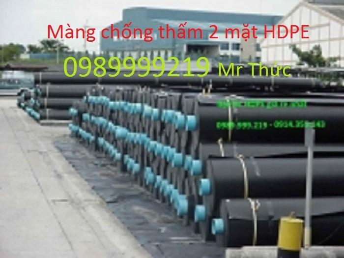 Màng chống thấm HDPE dầy 0,5mm
