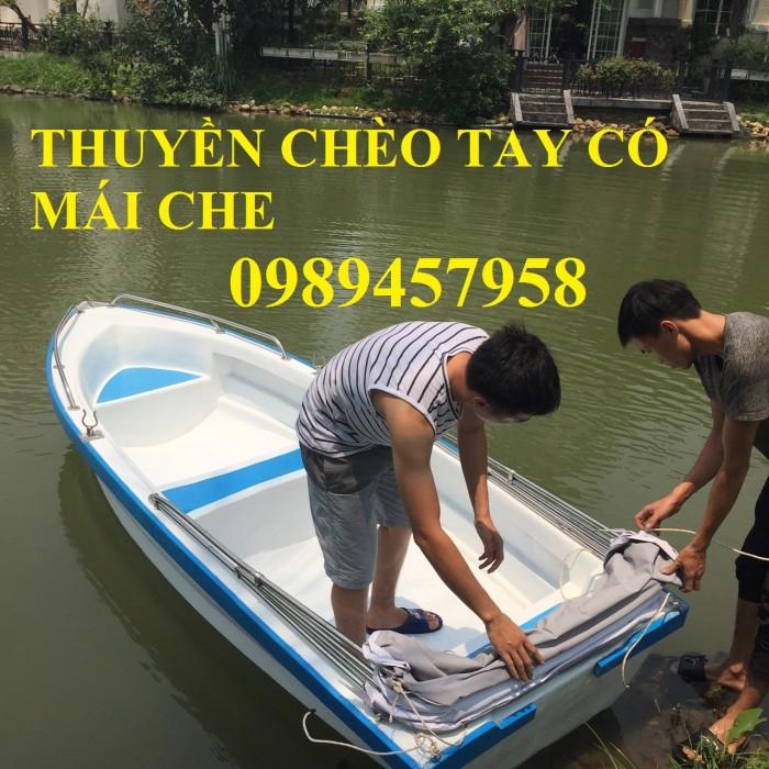 Thuyền Composite 3m, 3,6m chèo tay tại Sài Gòn2