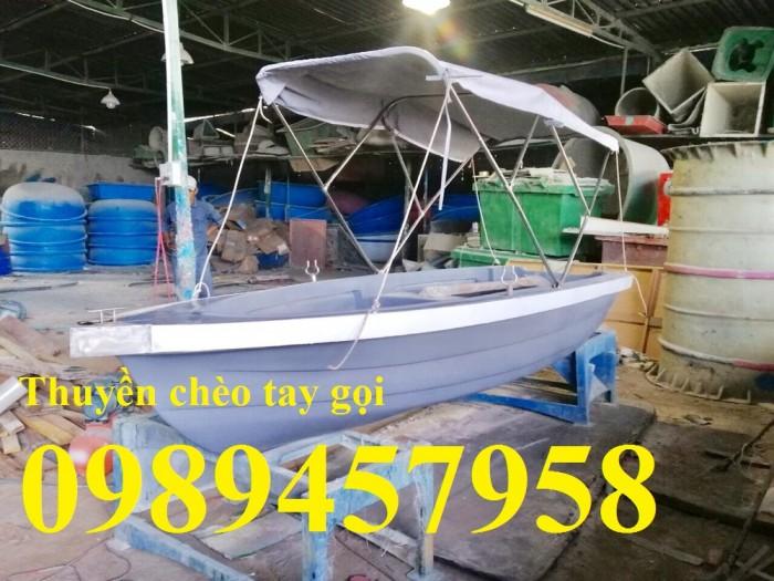 Thuyền Composite 3m, 3,6m chèo tay tại Sài Gòn0