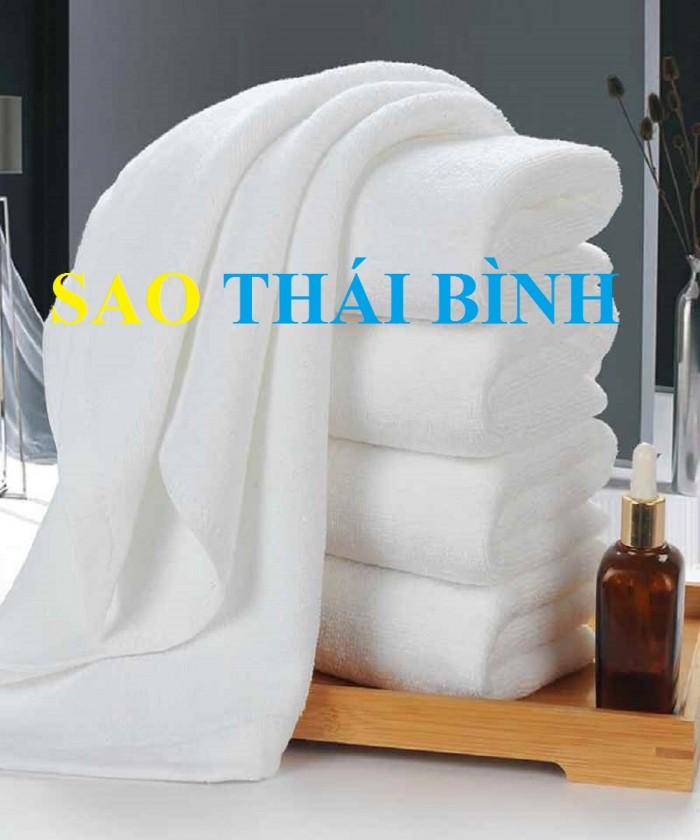 Khăn tắm dành cho khách sạn, nhà nghỉ chất liệu 100% cotton ,đủ size và trọng lượng1