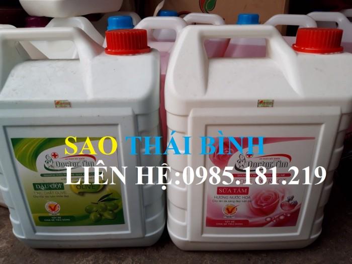 Can dầu gội Doctor Tim (10L) tinh chất olive Can sữa tắm Doctoer Tim (10L) hương hoa hồng0