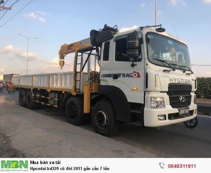 Hyundai HD320 sản xuất năm 2011 Số tay (số sàn) Xe tải động cơ Dầu diesel