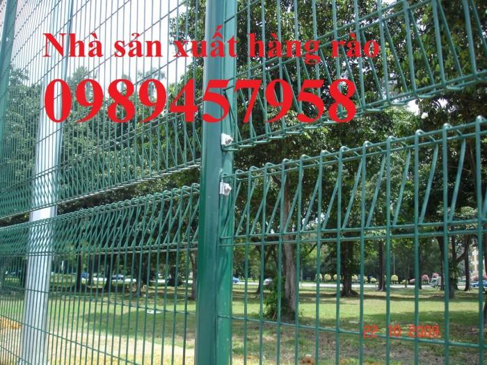 Sản xuất hàng rào sân bóng đá mini, hàng rào sân tennis tại Hà Nội2