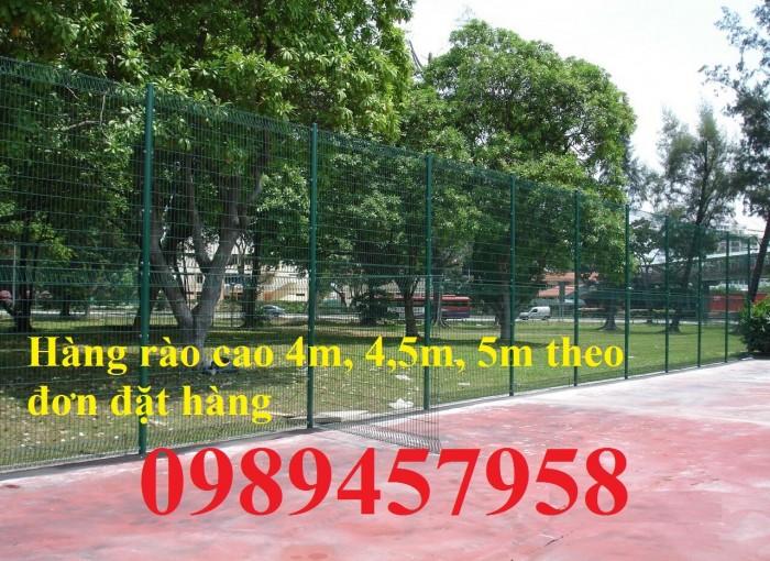 Sản xuất hàng rào sân bóng đá mini, hàng rào sân tennis tại Hà Nội0