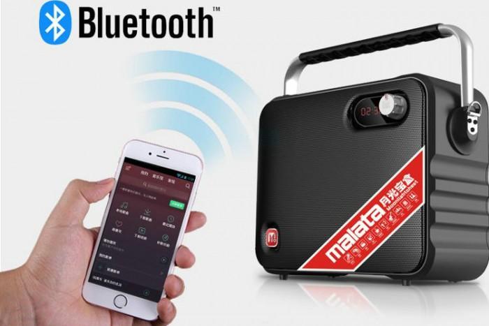 Loa di động mini Malata M+9001 hàng chính hãng nên nhận Bluetooth xa đến 10 m1