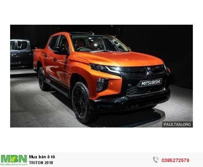 Mitsubishi Triton sản xuất năm 2019 Số tay (số sàn) Dầu diesel
