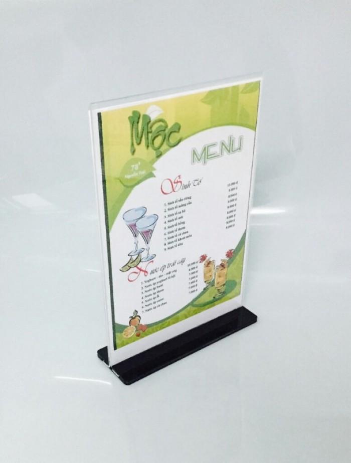 Bảng tên phòng công ty, bảng chức danh, menu mica giá rẻ19