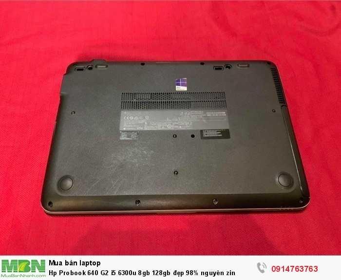 Hp Probook 640 G2 i5 6300u 8gb 128gb đẹp 98% nguyên zin