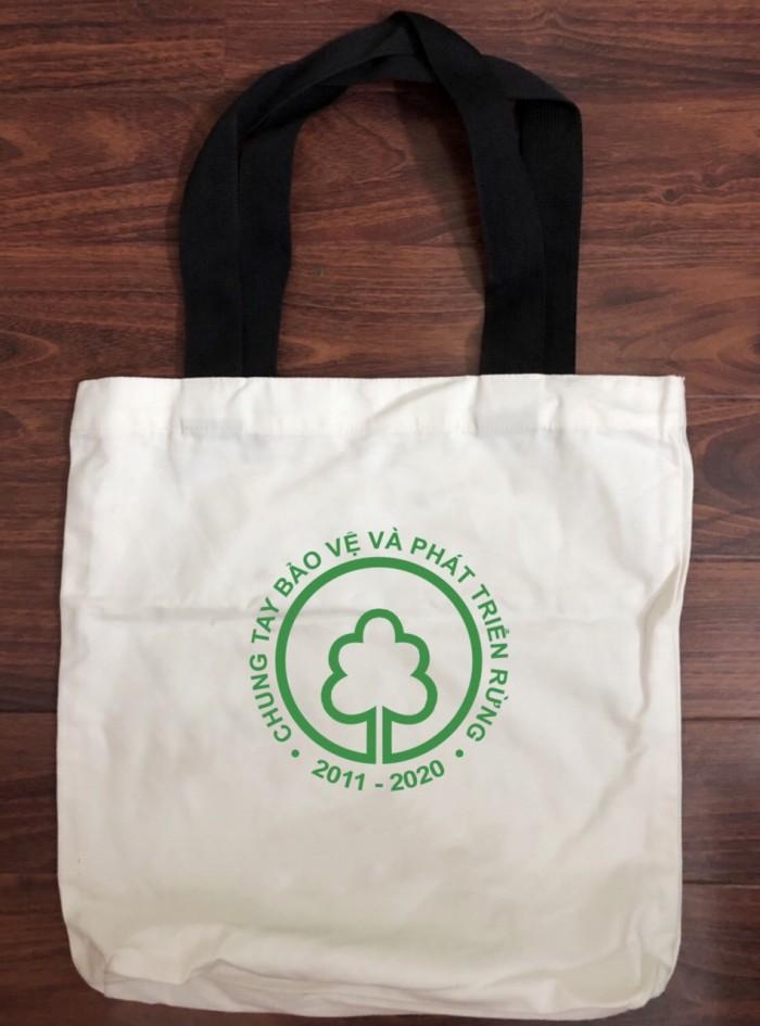 Túi vải bố in logo4