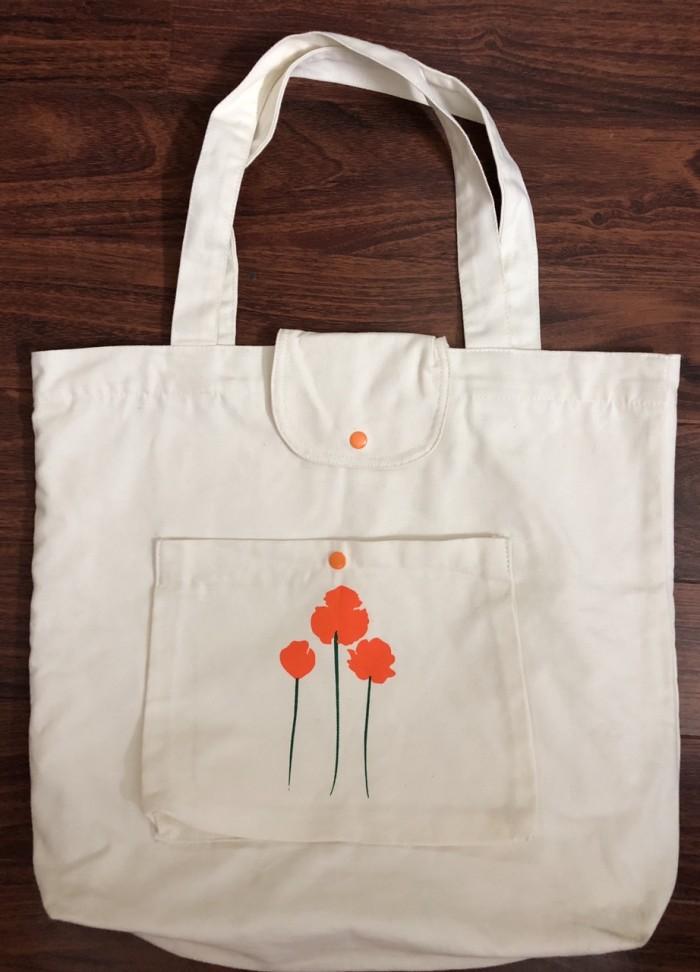 Túi vải bố in logo1