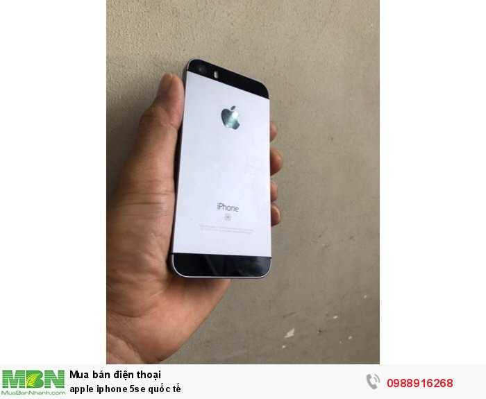 apple iphone 5se quốc tế3