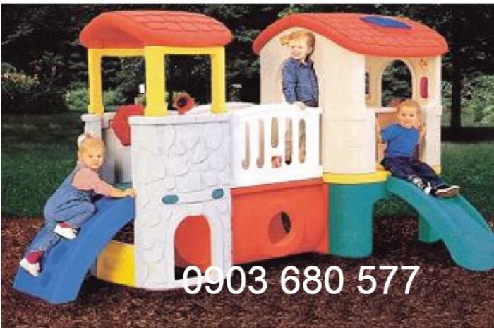 Bộ liên hoàn cầu trượt dành cho trẻ em27