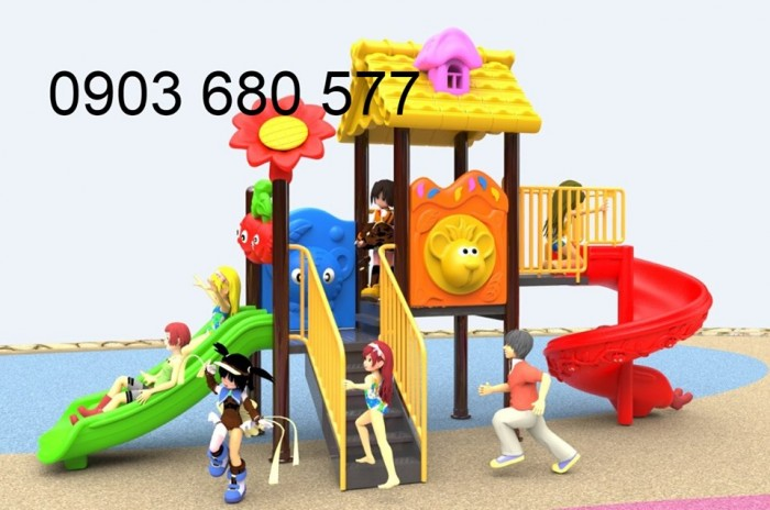Bộ liên hoàn cầu trượt dành cho trẻ em22