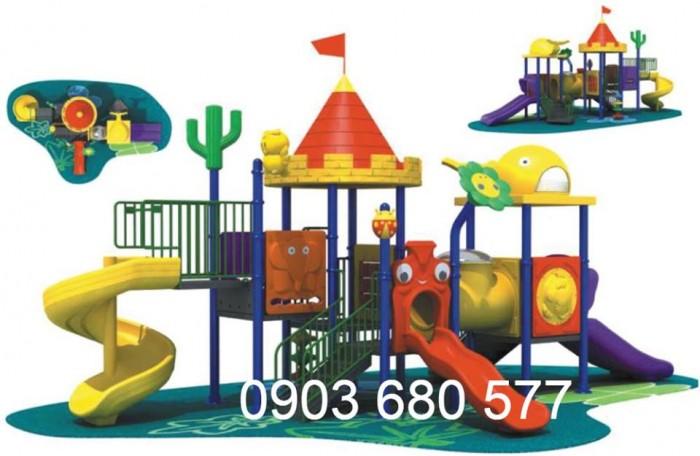 Bộ liên hoàn cầu trượt dành cho trẻ em11