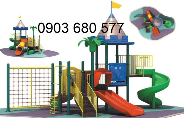 Bộ liên hoàn cầu trượt dành cho trẻ em18