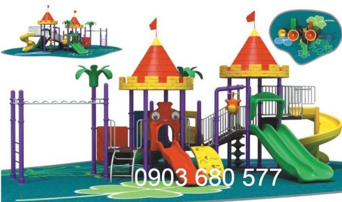 Bộ liên hoàn cầu trượt dành cho trẻ em25