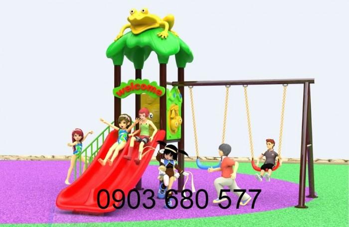 Bộ liên hoàn cầu trượt dành cho trẻ em9