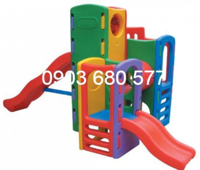 Bộ liên hoàn cầu trượt dành cho trẻ em8