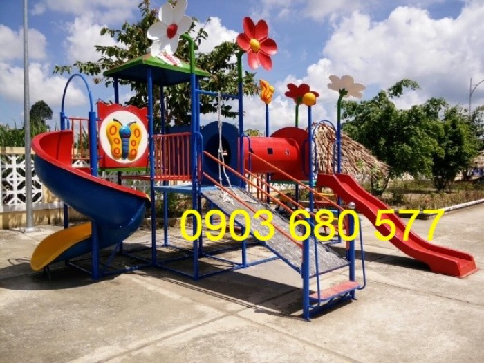 Bộ liên hoàn cầu trượt dành cho trẻ em5