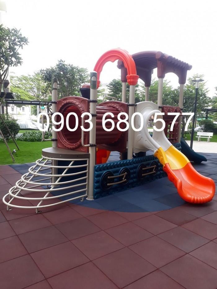 Bộ liên hoàn cầu trượt dành cho trẻ em1