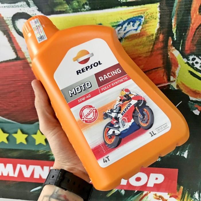 Dầu Nhớt Moto Cao Cấp REPSOL Racing 10W40 4T 1000ml 6