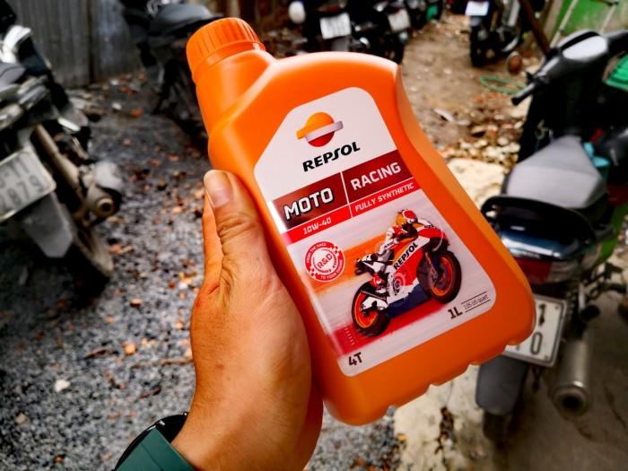 Dầu Nhớt Moto Cao Cấp REPSOL Racing 10W40 4T 1000ml 4