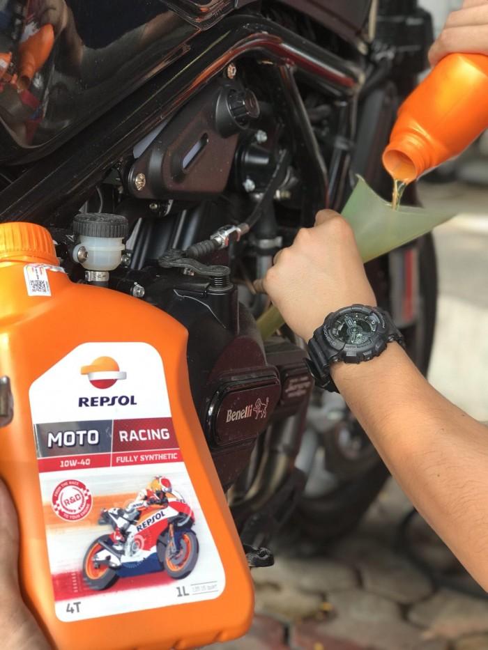Dầu Nhớt Moto Cao Cấp REPSOL Racing 10W40 4T 1000ml 2