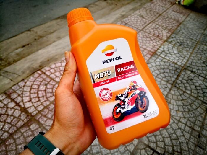 Dầu Nhớt Moto Cao Cấp REPSOL Racing 10W40 4T 1000ml 3