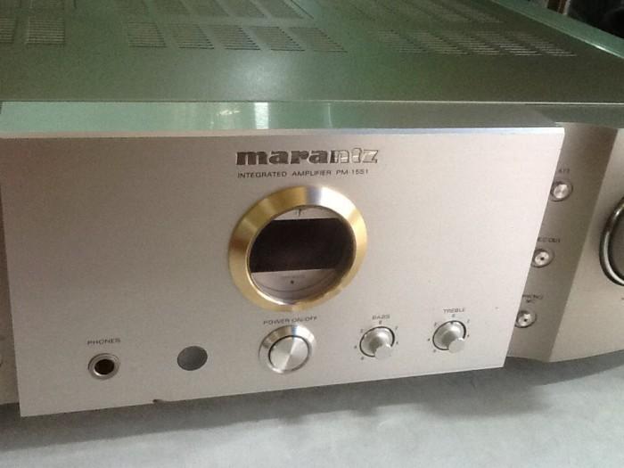 Bán chuyên Ampli Marantz PM15S1 hàng bãi, đẹp, zin 100% ,long lanh khong chỉnh sửa .4