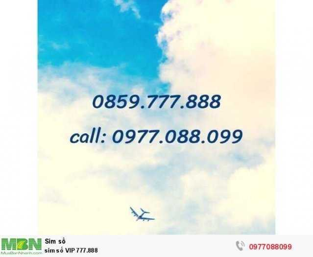 Sim số VIP 777.8880
